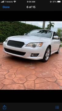 2009 Subaru Legacy for sale at Thumbs Up Motors in Warner Robins GA