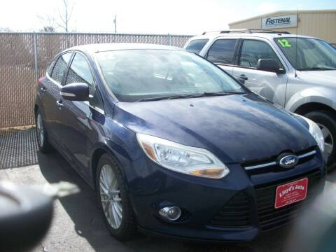 2012 Ford Focus for sale at Lloyds Auto Sales & SVC in Sanford ME