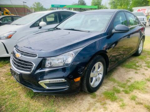 2016 Chevrolet Cruze Limited for sale at BRYANT AUTO SALES in Bryant AR