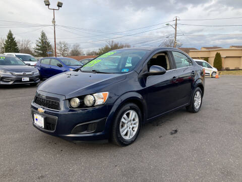 2015 Chevrolet Sonic for sale at Majestic Automotive Group in Cinnaminson NJ