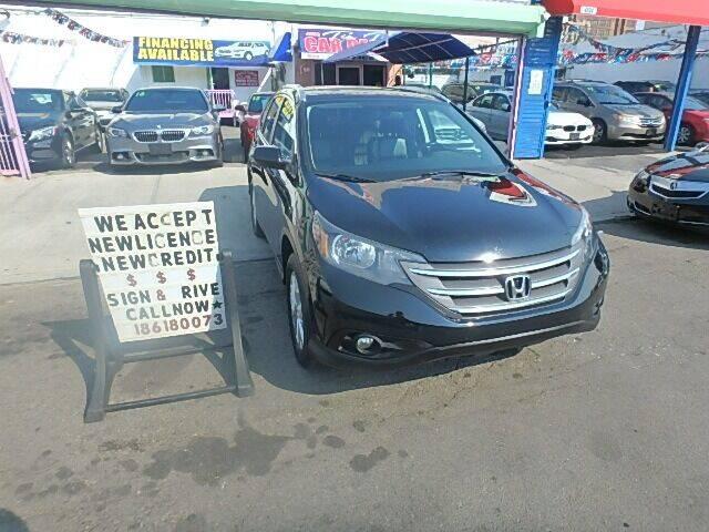 2013 Honda CR-V for sale at Cedano Auto Mall Inc in Bronx NY