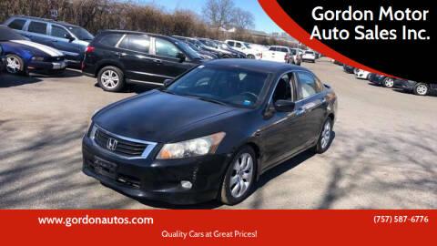 2009 Honda Accord for sale at Gordon Motor Auto Sales Inc. in Norfolk VA