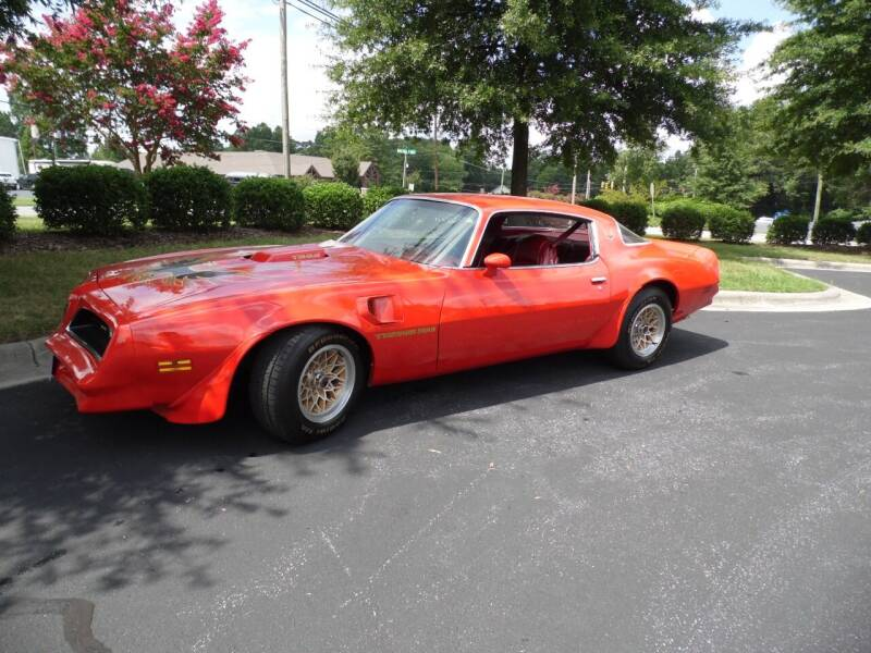 1978 Pontiac Trans Am for sale at Carolina Classics & More in Thomasville NC