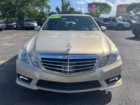 2010 Mercedes-Benz E-Class for sale at Bargain Auto Sales in West Palm Beach FL