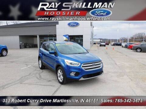 2018 Ford Escape for sale at Ray Skillman Hoosier Ford in Martinsville IN