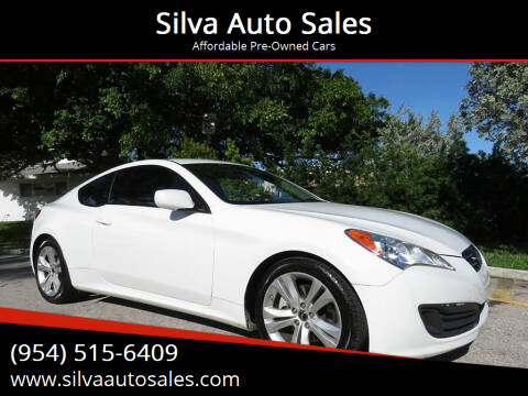 2012 Hyundai Genesis Coupe for sale at Silva Auto Sales in Pompano Beach FL