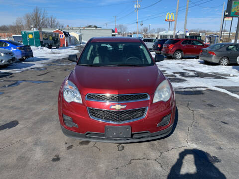2010 Chevrolet Equinox for sale at L.A. Automotive Sales in Lackawanna NY