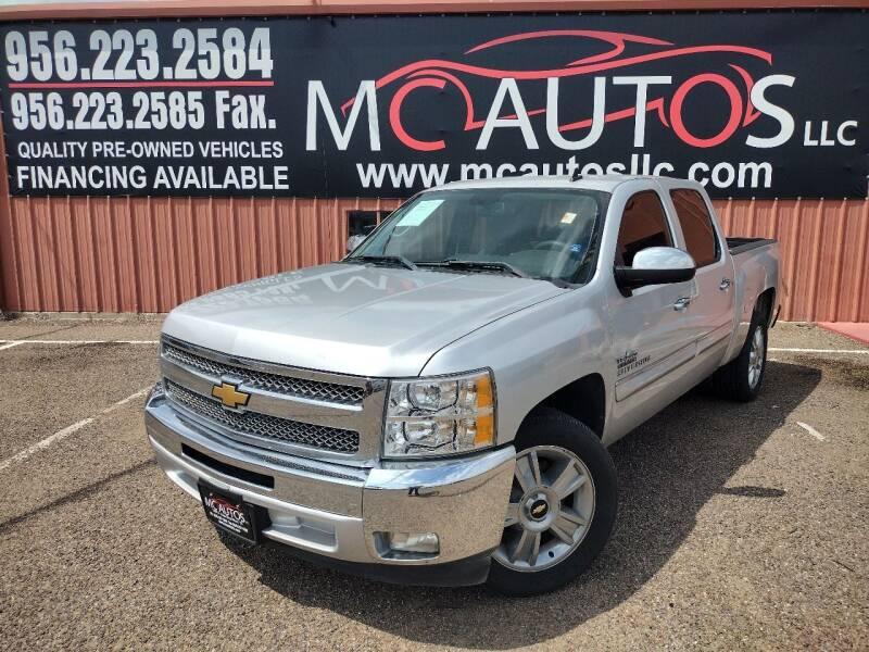 2013 Chevrolet Silverado 1500 for sale at MC Autos LLC in Pharr TX