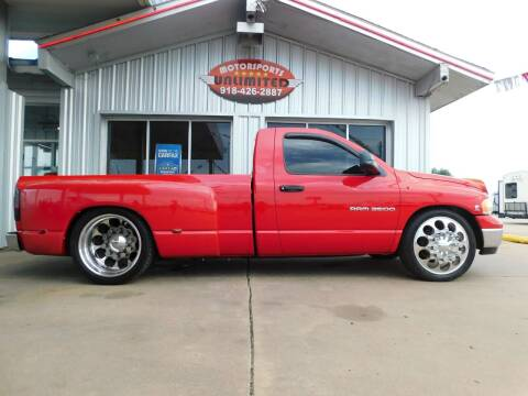 2003 Dodge Ram Pickup 3500 for sale at Motorsports Unlimited in McAlester OK
