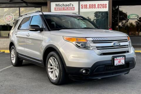 2013 Ford Explorer for sale at Michaels Auto Plaza in East Greenbush NY
