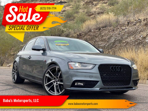 2013 Audi A4 for sale at Baba's Motorsports, LLC in Phoenix AZ