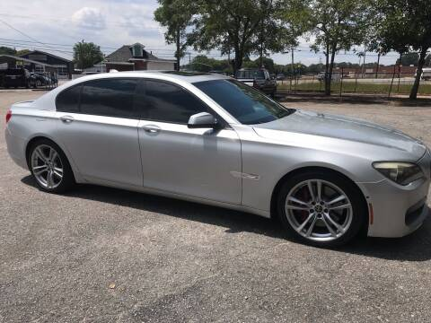 2012 BMW 7 Series for sale at Cherry Motors in Greenville SC