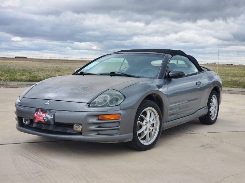 2002 Mitsubishi Eclipse Spyder for sale at Chihuahua Auto Sales in Perryton TX