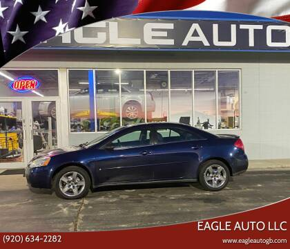 2008 Pontiac G6 for sale at Eagle Auto LLC in Green Bay WI
