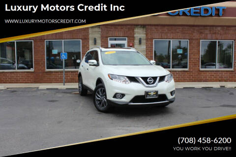 2016 Nissan Rogue for sale at Luxury Motors Credit Inc in Bridgeview IL
