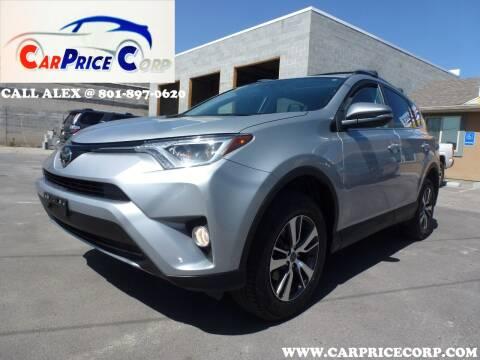 2018 Toyota RAV4 for sale at CarPrice Corp in Murray UT