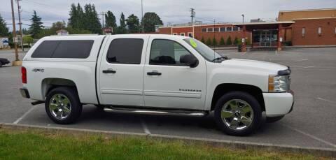 2011 Chevrolet Silverado 1500 for sale at AUTOTRACK INC in Mount Vernon WA