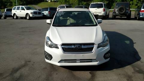 2012 Subaru Impreza for sale at DISCOUNT AUTO SALES in Johnson City TN