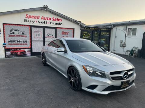 2016 Mercedes-Benz CLA for sale at Speed Auto Sales in El Cajon CA