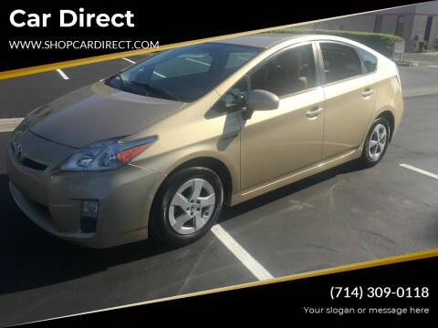 2011 Toyota Prius for sale at Car Direct in Orange CA