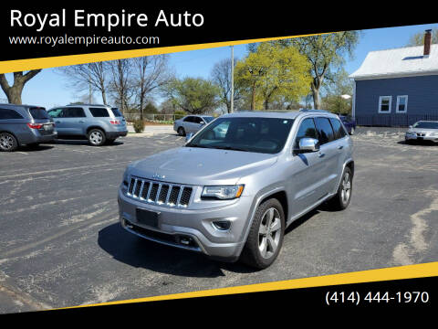 2014 Jeep Grand Cherokee for sale at Royal Empire Auto in Milwaukee WI