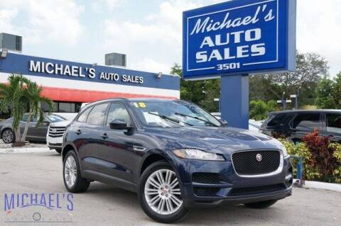 2018 Jaguar F-PACE for sale at Michael's Auto Sales Corp in Hollywood FL
