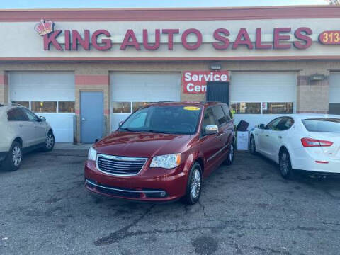 2014 Chrysler Town and Country for sale at KING AUTO SALES  II in Detroit MI