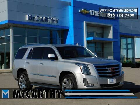 2017 Cadillac Escalade for sale at Mr. KC Cars - McCarthy Hyundai in Blue Springs MO