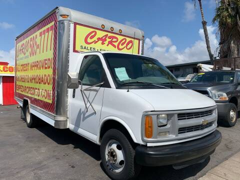 2000 Chevrolet Express Passenger for sale at CARCO SALES & FINANCE #2 in Chula Vista CA