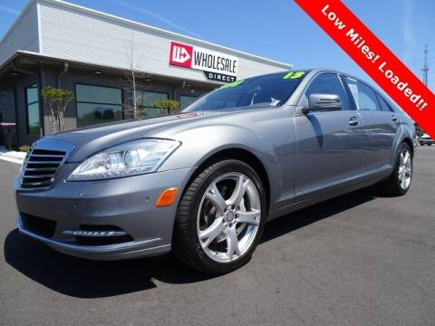 2013 Mercedes-Benz S-Class for sale at Wholesale Direct in Wilmington NC