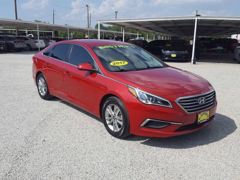 2017 Hyundai Sonata for sale at Bostick's Auto & Truck Sales in Brownwood TX