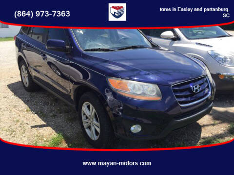 2010 Hyundai Santa Fe for sale at Mayan Motors Easley in Easley SC