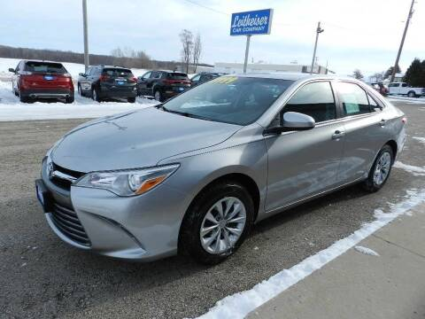 2017 Toyota Camry for sale at Leitheiser Car Company in West Bend WI