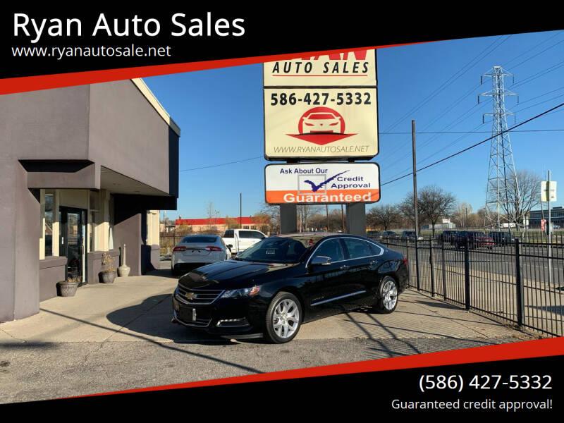 2017 Chevrolet Impala for sale at Ryan Auto Sales in Warren MI