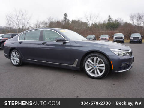 2016 BMW 7 Series for sale at Stephens Auto Center of Beckley in Beckley WV