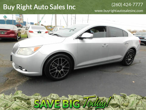 2010 Buick LaCrosse for sale at Buy Right Auto Sales Inc in Fort Wayne IN