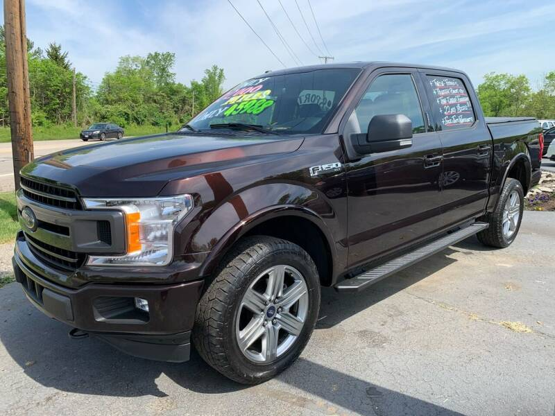 2018 Ford F-150 for sale at FREDDY'S BIG LOT in Delaware OH