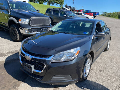 2014 Chevrolet Malibu for sale at Ball Pre-owned Auto in Terra Alta WV