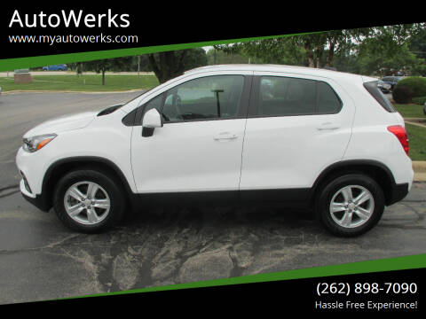 2017 Chevrolet Trax for sale at AutoWerks in Sturtevant WI