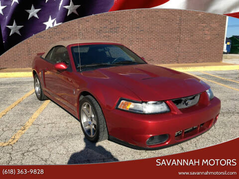 2003 Ford Mustang SVT Cobra for sale at Savannah Motors in Cahokia IL