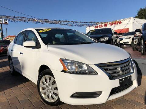 2015 Nissan Sentra for sale at Cars of Tampa in Tampa FL