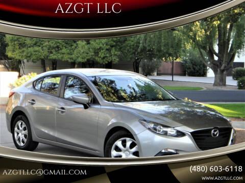 2015 Mazda MAZDA3 for sale at AZGT LLC in Phoenix AZ