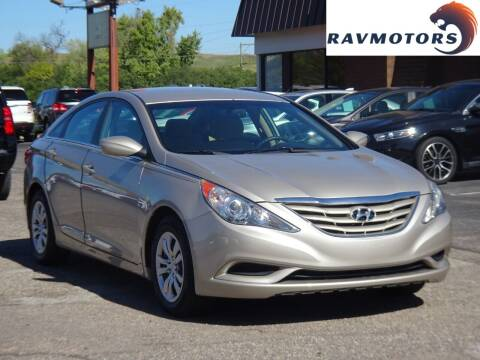2011 Hyundai Sonata for sale at RAVMOTORS in Burnsville MN