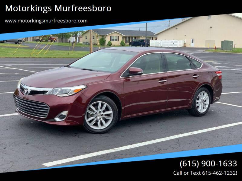2013 Toyota Avalon for sale at Motorkings Murfreesboro in Murfreesboro TN