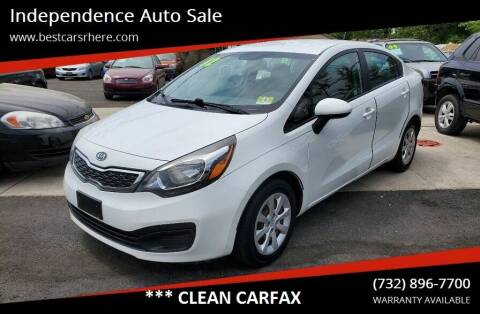 2012 Kia Rio for sale at Independence Auto Sale in Bordentown NJ
