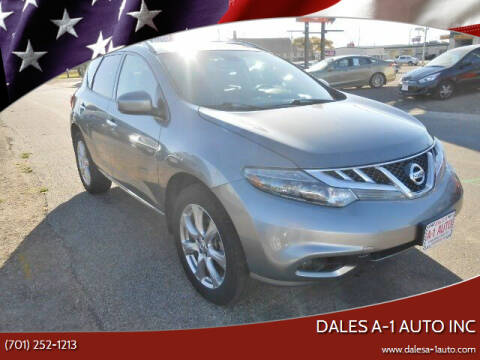 2013 Nissan Murano for sale at Dales A-1 Auto Inc in Jamestown ND