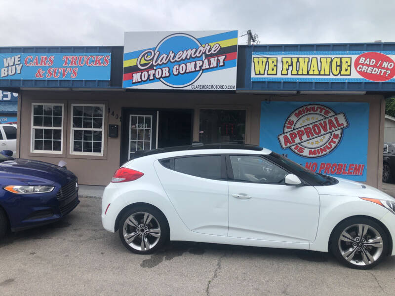 2013 Hyundai Veloster for sale at Claremore Motor Company in Claremore OK
