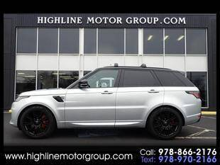 2019 Land Rover Range Rover Sport for sale at Highline Group Motorsports in Lowell MA