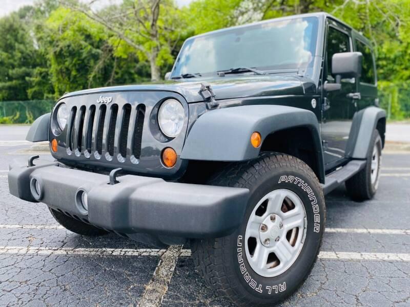 2010 Jeep Wrangler for sale at Monterrey Auto Brokers in Decatur GA