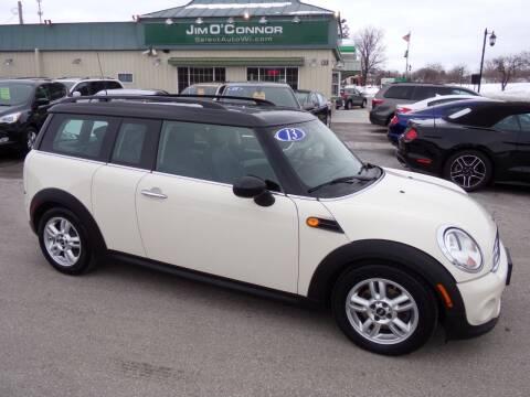 2013 MINI Clubman for sale at Jim O'Connor Select Auto in Oconomowoc WI